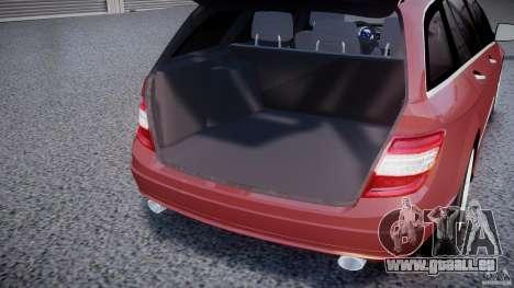 Mercedes-Benz C 280 T-Modell/Estate für GTA 4 Seitenansicht
