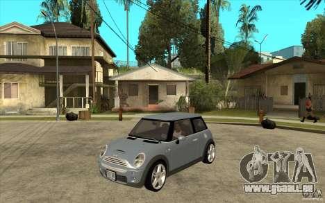 Mini Cooper - Stock für GTA San Andreas