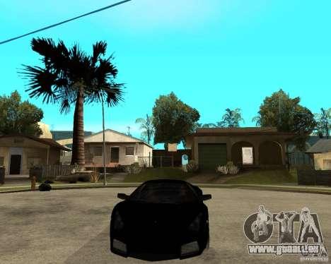 Lamborghini Reventon pour GTA San Andreas vue arrière