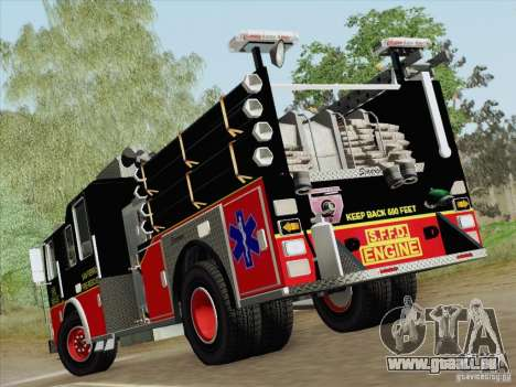 Seagrave Marauder Engine SFFD für GTA San Andreas Räder