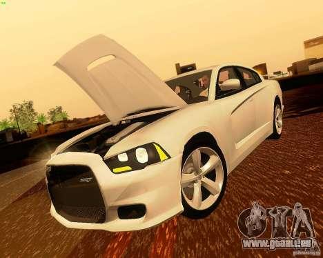 Dodge Charger SRT8 2012 pour GTA San Andreas vue de côté