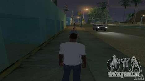 t-shirt est un visage de Troll pour GTA San Andreas deuxième écran