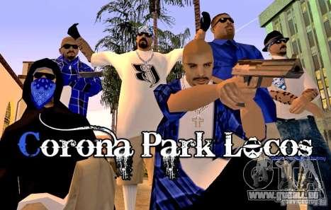 Corona Park Locos für GTA San Andreas