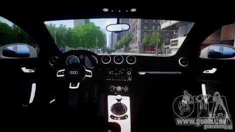 Audi TT RS 2010 pour GTA 4 est une gauche