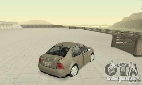 Volkswagen Bora Stock für GTA San Andreas Seitenansicht