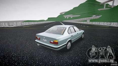 BMW 535i E34 für GTA 4 Innenansicht