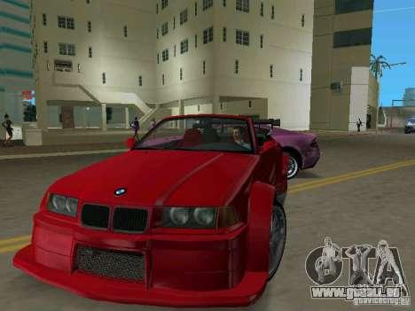 BMW M3 E36 pour une vue GTA Vice City de la gauche