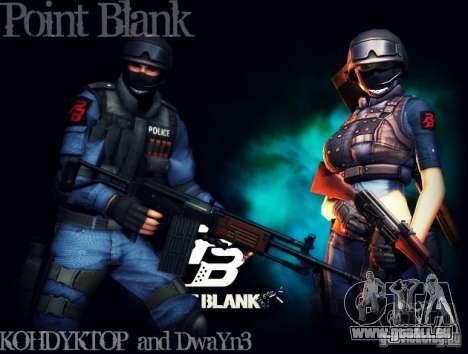 SWAT de Point Blank pour GTA San Andreas