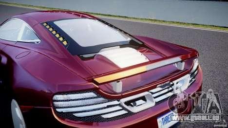 McLaren MP4-12C [EPM] pour GTA 4 est une vue de dessous