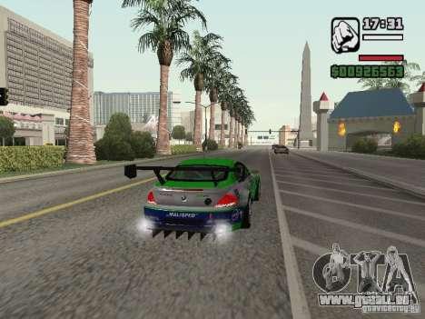 Alpina B6 GT3 für GTA San Andreas Rückansicht