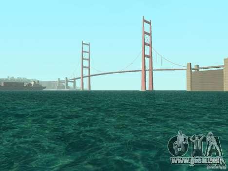 Nouvelle eau de textures et de fumée pour GTA San Andreas