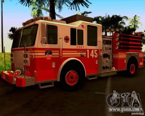 Pumper Seagrave Marauder F.D.N.Y für GTA San Andreas