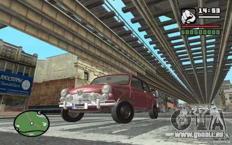 Mini Cooper S pour GTA San Andreas laissé vue