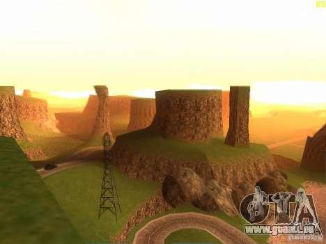 Without the desert pour GTA San Andreas deuxième écran