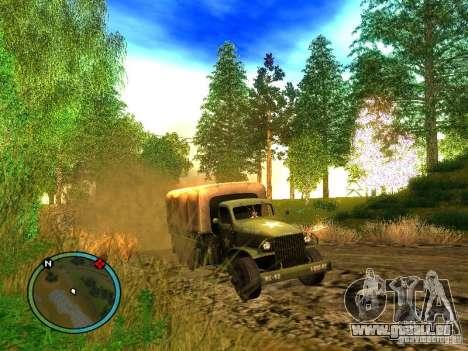 Millitary Truck from Mafia II für GTA San Andreas