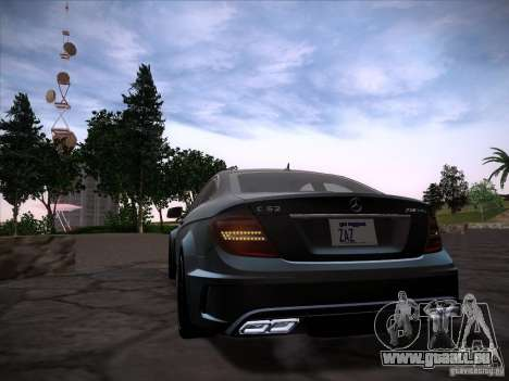 Improved Vehicle Lights Mod für GTA San Andreas dritten Screenshot