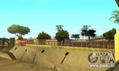 Zaun um den Groove-Sreet für GTA San Andreas fünften Screenshot