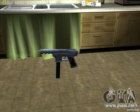 Tec 9 (HQ) für GTA San Andreas