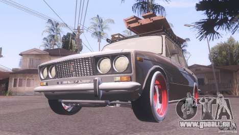 VAZ 2106 Tuning Rat Style pour GTA San Andreas