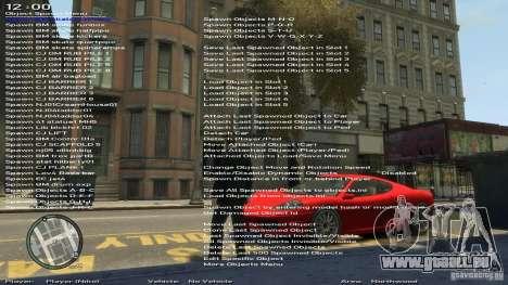 Formateur simple Version 6.3 pour 1.0.6.0, 1.0.7 pour GTA 4 cinquième écran