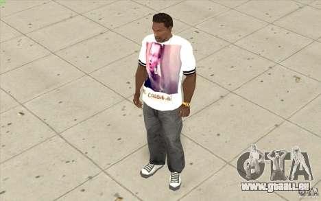 T-shirt : Slavik exubérante pour GTA San Andreas troisième écran
