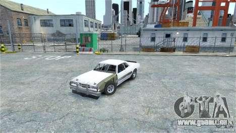 Jupiter Eagleray MK5 v.2 pour GTA 4 est une gauche
