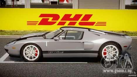 Ford GT 2006 v1.0 pour GTA 4 Vue arrière de la gauche