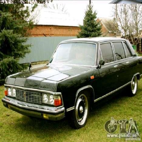 Écrans de démarrage dans les voitures de l'URSS pour GTA San Andreas