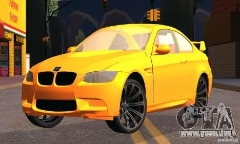 BMW M3 pour GTA San Andreas vue de droite