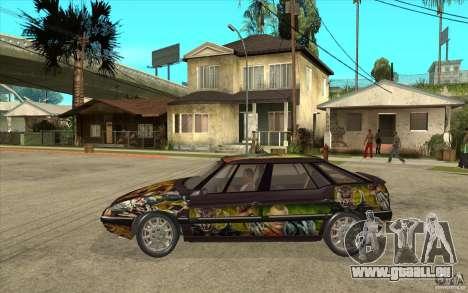 Citroen XM Custom pour GTA San Andreas laissé vue