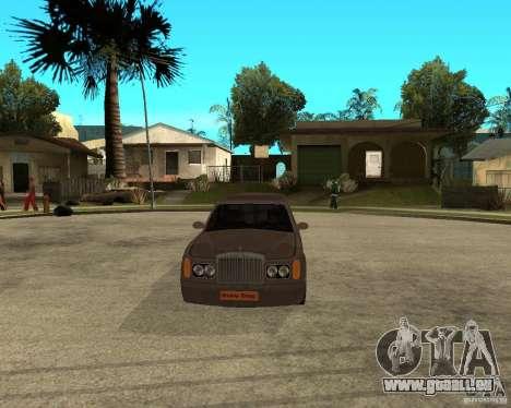 Rolls Royce Silver Seraph pour GTA San Andreas vue arrière