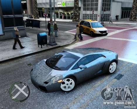 Lamborghini Gallardo 2005 pour GTA 4