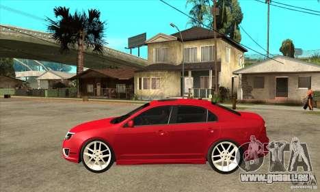 Ford Fusion Hybrid pour GTA San Andreas laissé vue