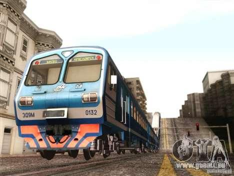 TrainCamFix pour GTA San Andreas troisième écran