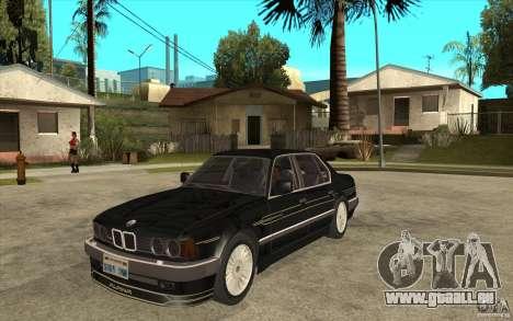 BMW E32 7-er Alpina B12 pour GTA San Andreas