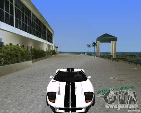 Ford GT für GTA Vice City linke Ansicht