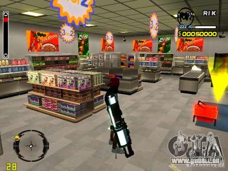 With Chrome m4 für GTA San Andreas zweiten Screenshot