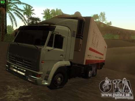 KAMAZ 6460 pour GTA San Andreas