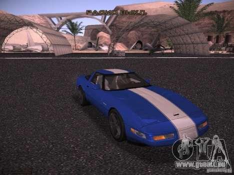 Chevrolet Corvette Grand Sport für GTA San Andreas Innenansicht