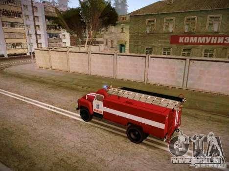 Gasschlauch 30 53 Feuer für GTA San Andreas linke Ansicht