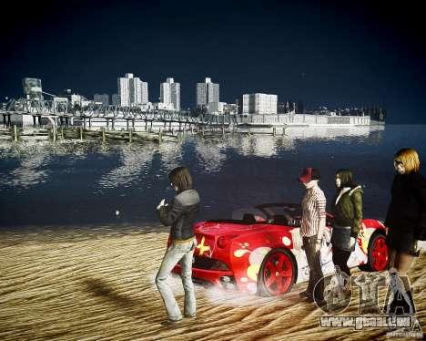 Ferrari California DC Texture pour GTA 4 est un droit