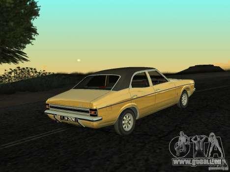 Ford Cortina MK 3 Life On Mars pour GTA San Andreas laissé vue