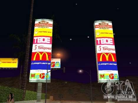 Boutique russe en Las Venturase pour GTA San Andreas