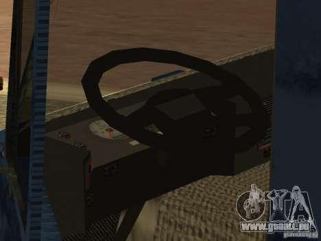 Tatra 815 pour GTA San Andreas vue intérieure