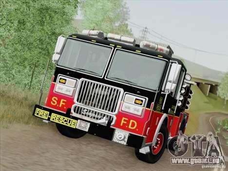 Seagrave Marauder Engine SFFD für GTA San Andreas obere Ansicht