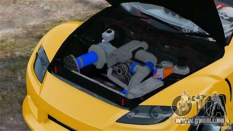 Mazda RX-8 Mad Mike pour GTA 4 Vue arrière