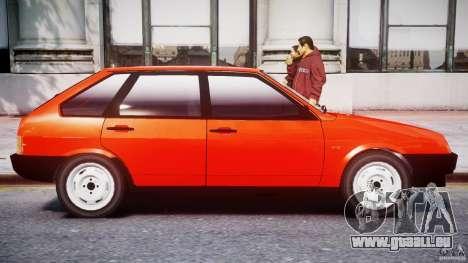 VAZ-21093i für GTA 4 Innen