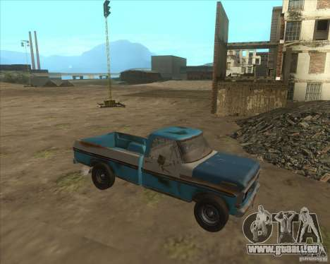 Ford F150 1978 old crate edition für GTA San Andreas linke Ansicht