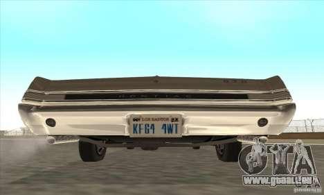 Pontiac GT-100 für GTA San Andreas zurück linke Ansicht