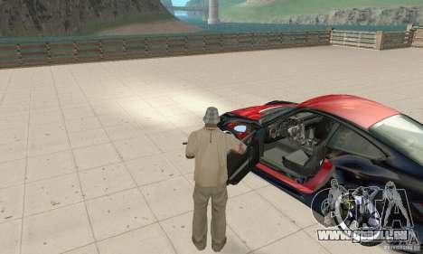 Porsche 911 GT2 NFS Undercover für GTA San Andreas Rückansicht